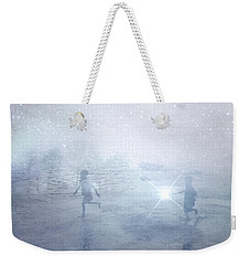 Wonder On A Starry Night Weekender Tote Bag