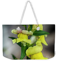 Wonderful Nature - Yellow Antirrhinum Weekender Tote Bag