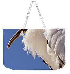 Wonderful Wood Stork Weekender Tote Bag by Carol Groenen