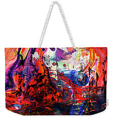 Wonderland - Colorful Abstract Art Painting Weekender Tote Bag