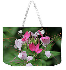 Wonders Of Cleome Weekender Tote Bag