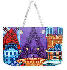 Wonders Of Paris Weekender Tote Bag