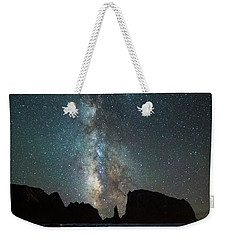 Weekender Tote Bag featuring the photograph Wonders Of The Night by Darren White