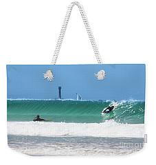 Weekender Tote Bag featuring the photograph Wonderwall by Terri Waters