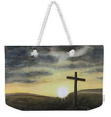 Wondrous Cross Weekender Tote Bag
