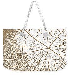 Wood And White- Art By Linda Woods Weekender Tote Bag by Linda Woods