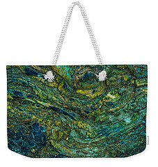 Wood Burl Abstract Weekender Tote Bag by Bruce Pritchett