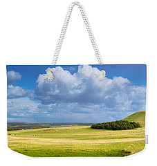 Wood Copse On A Hill Weekender Tote Bag