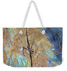 Wood Cracks Weekender Tote Bag