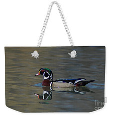 Wood Duck - Male Weekender Tote Bag