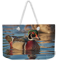Wood Duck 4 Weekender Tote Bag
