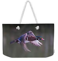 Wood Duck Flight Weekender Tote Bag