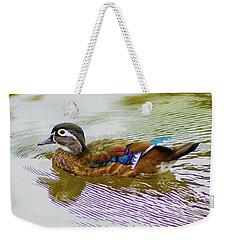 Wood Duck Hen Weekender Tote Bag