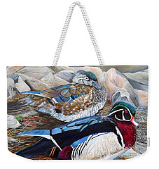 Wood Ducks  Weekender Tote Bag