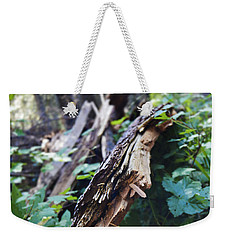 Wood In The Forest Weekender Tote Bag
