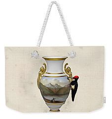 Wood Pecker's Dream Weekender Tote Bag by Keshava Shukla