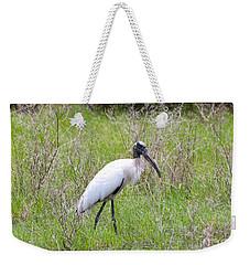 Wood Stork In The Marsh Weekender Tote Bag