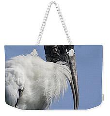 Wood Stork Portrail Weekender Tote Bag
