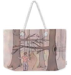 Wood Winds Weekender Tote Bag