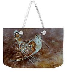 Woodcock Weekender Tote Bag