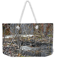 Woodcock's View Of The Forest Weekender Tote Bag by Asbed Iskedjian