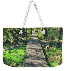 Wooded Path - Spring At Retzer Nature Center Weekender Tote Bag by Jennifer Rondinelli Reilly - Fine Art Photography