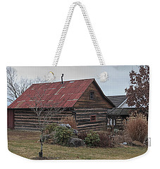 Wooden Barn Weekender Tote Bag
