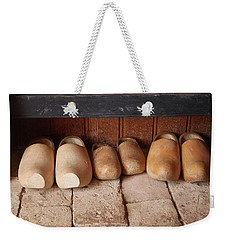 Wooden Clogs Weekender Tote Bag