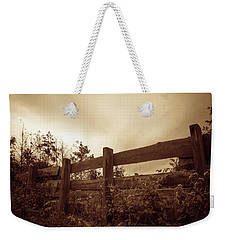 Wooden Fence Weekender Tote Bag by Wim Lanclus