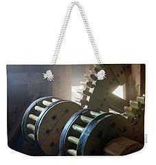 Wooden Gear Train Weekender Tote Bag