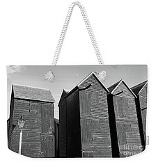 Wooden Net Huts In Hastings Weekender Tote Bag