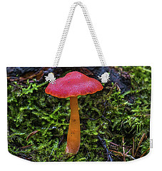 Weekender Tote Bag featuring the photograph Woodland Floor Decor by Bill Pevlor
