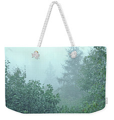 Woodland Fog Weekender Tote Bag