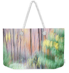 Weekender Tote Bag featuring the photograph Woodland Hues 2 by Bernhart Hochleitner