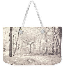 Weekender Tote Bag featuring the photograph Woodland by Keith Elliott
