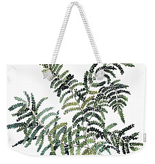 Woodland Maiden Fern Weekender Tote Bag