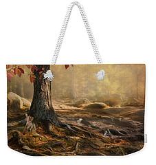 Woodland Mist Weekender Tote Bag