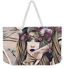 Woodland Nymph Weekender Tote Bag by Kathy Kelly