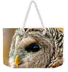 Woodland Owl Weekender Tote Bag by Adam Olsen