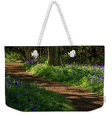 Woodland Path Lined By Bluebells Weekender Tote Bag