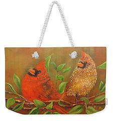 Woodland Royalty Weekender Tote Bag