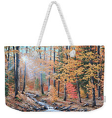 Woodland Trail Weekender Tote Bag