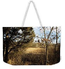 Woodland View  Weekender Tote Bag by Kimberly Mackowski