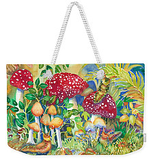 Woodland Visitors Weekender Tote Bag