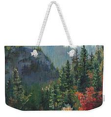 Woodland Wonder Weekender Tote Bag by Lori Brackett