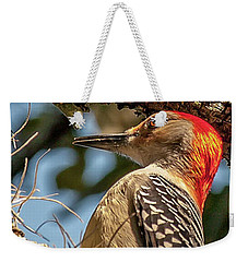 Woodpecker Closeup Weekender Tote Bag