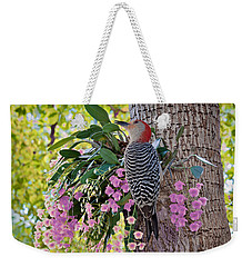 Woodpecker Heaven Weekender Tote Bag