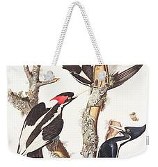 Woodpeckers Weekender Tote Bag