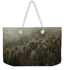 Woods In Winter Weekender Tote Bag