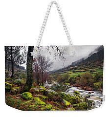 Woods Landscape Weekender Tote Bag by Carlos Caetano